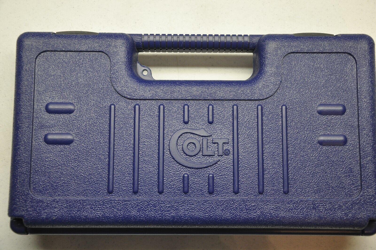Colt fabricante de equipo original caso plástico Azul Pre 2006 para P1941 SAA