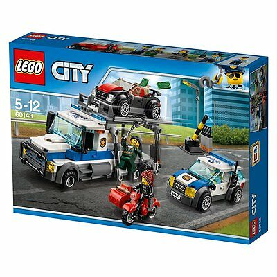 LEGO City Police Auto Transport Heist 60143 - NEW
