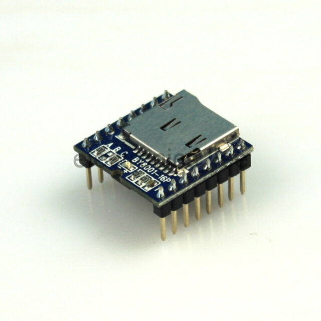 BY8001-16P TF Card MP3 Voice Module Support U-Disk USB for Arduino
