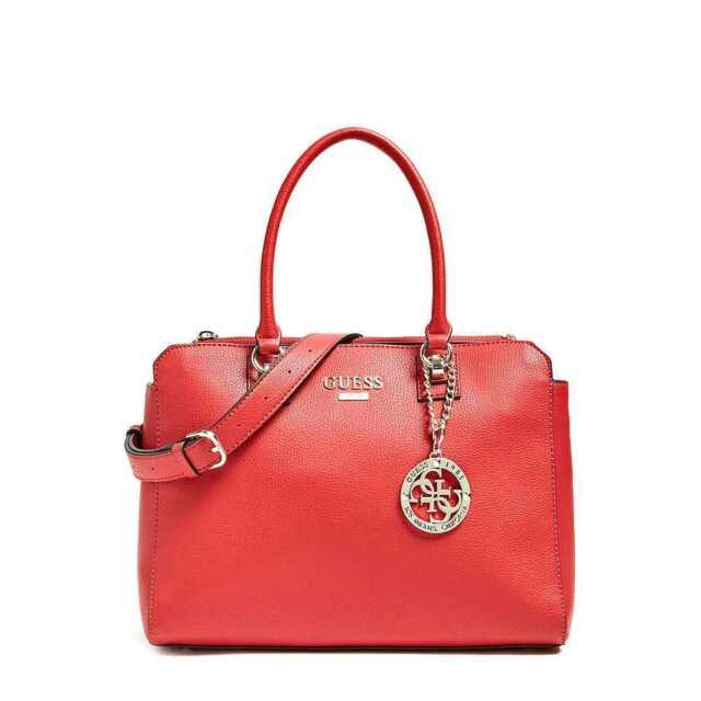 Original GUESS Tasche ALMA Damen Rot - HWVG7401090RED
