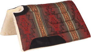 Sierra-Herculon-Cut-Back-and-Built-Up-Western-Saddle-Pad-5-Colors-30-034-x-32-034-NEW