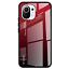 miniatura 11 - COVER per Xiaomi Mi 11 Lite CUSTODIA ORIGINALE Gradient Glass + VETRO TEMPERATO