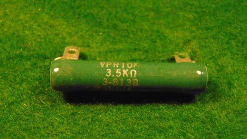 Vintage Clarostat 3.5k Ohm 10 Watt Enamel Wirewound Resistor NOS 1
