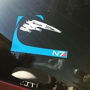 Mass Effect N7 Symbol Icon Cool Vinyl Car Window Truck Sticker Decal