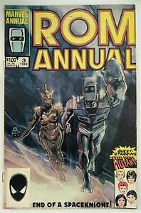 ROM-ANNUAL-3-MARVEL-COMICS-English-6-0-FINE-1984
