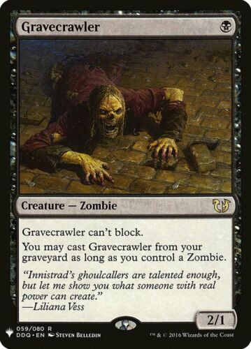 English Gravecrawler Mystery Booster MTG magic cards 1x x1 NM-Mint