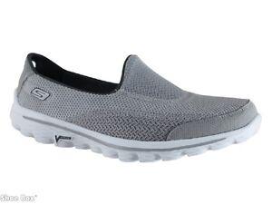 Skechers-13590-Go-Walk2-Fabric-Slip-On-Casuals-Women-039-s-US-Size-6-7-8-9-10