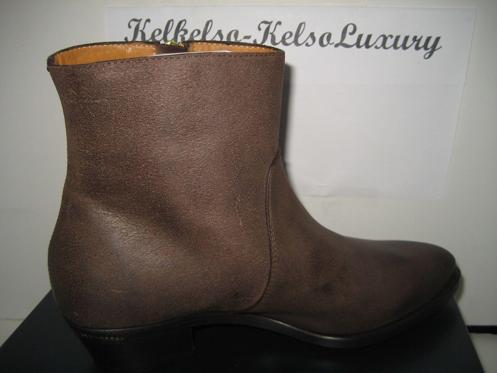 795 NEW RALPH LAUREN COLLECTION US 7.5 marron marron marron Suede Ninette Ankle bottes  BX 5f1a02