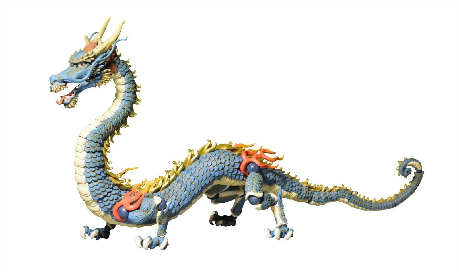 Kaiyodo takeya shiki jizai okimono kt-004 ryu drachen farbe über.action - figur
