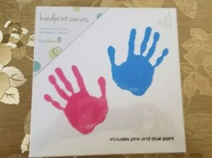 Details About Tiny Ideas Diy Handprint Ready To Hang Art Kit