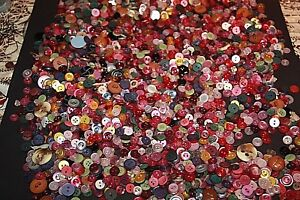 bulk-buttons-mixed-1-2-kg-vintage-buttons-lots-buttons-used-buttons-mixed-lot-F
