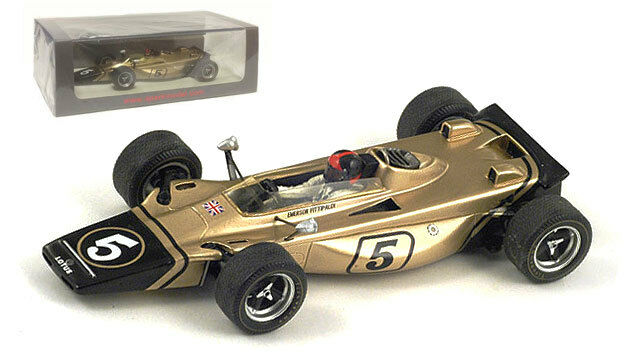 Spark s1766 LOTUS 56B n ° 5 gp italien 1971-emerson fittipaldi, échelle 1 43,