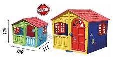 casetta giardino bambini casa gioco 115 cm altezza giocattoli aperto x 5 bambini