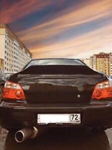 Subaru Impreza Wrx 02 07 Rear Trunk Spoiler Ducktail Wing