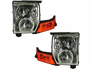 2006-2010 Jeep Commander Passenger Right Side Headlight Lamp Assembly