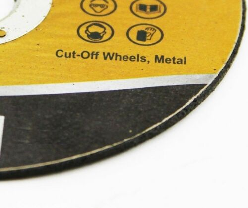 """4.5/"""" Inch Grinding Cut Off Wheel Disc 1//8/"""" 7//8/"""" Arbor Angle Grinder Tool 50"""
