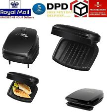 NEW George Foreman 23420 Family Five 5 Portion Health Grill Black Non Stick