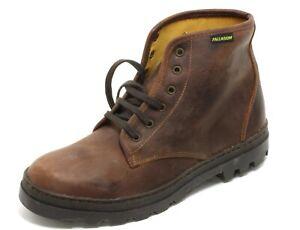 451 Schnürschuhe Wanderschuhe Leder High Ankle Boots Trapper Palladium 40