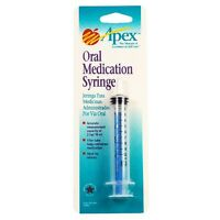 Apex Healthcare Products Oral Medication Syring by Aertex Healthcare (70004L) Health Aids on Sale