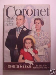 Details about CORONET June 1948 ALFRED LUNT LYNN FONTANNE THE LUNTS ANDREW  CARNEGIE SOUTHWEST