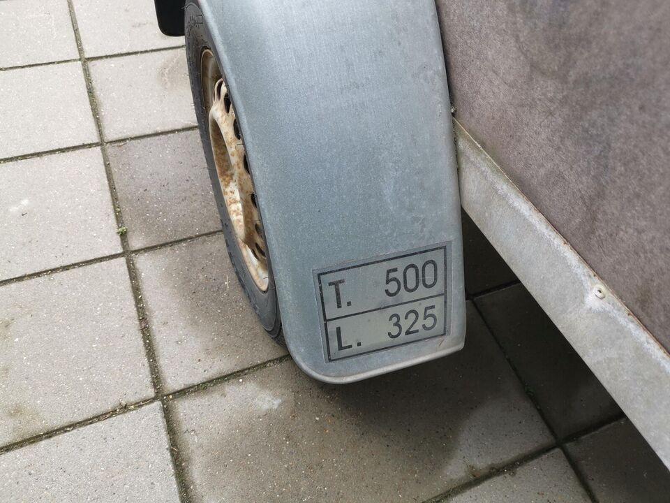 Trailer, Variant A12905, lastevne (kg): 325