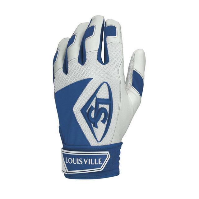 NEW Louisville Slugger Adult Series 7 Batting Gloves Orange Size Large White