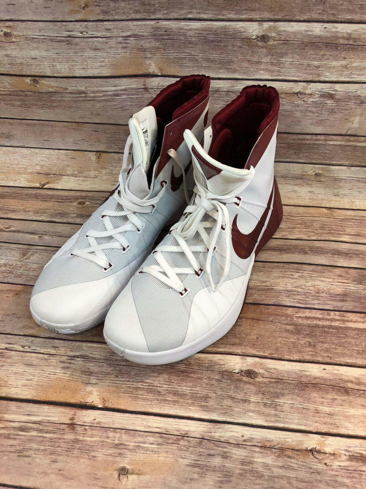 Nike Mens Hyperdunk 2015 TB Basketball shoes 812944 161 Red US 16 NEW