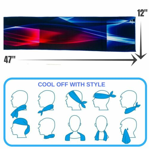 STRINGS Instant Cooling Towel Coolers