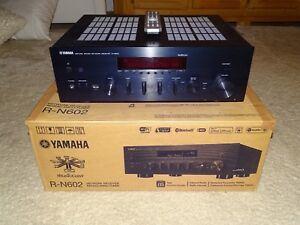 Yamaha-MusicCast-R-N602-HiFi-Netzwerk-Receiver-WiFi-LAN-OVP-2J-Garantie