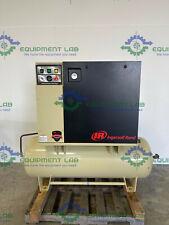 Ingersoll Rand Up6 75 125 Rotary Screw Air Compressor 80 Gallon 75 Hp 3ph