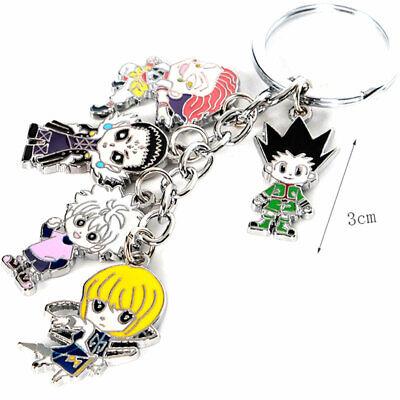 HUNTER×HUNTER GON·FREECSS Pendant Keychain Cosplay Zipper Ornament Charm Keyring