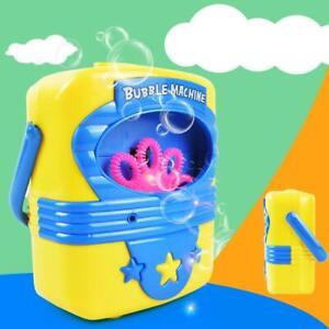Automatic-Electric-Handy-Bubble-Machine-Toys-Soap-Blow-Bubbles-Blower-Maker-Toy