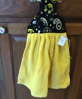 Handmade Iowa Hawkeye Hanging Kitchen Fridge Towel 130