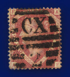 1870-SG51-1-d-Rose-Red-Plate-3-G6-1-AF-Charing-Cross-Good-Used-Cat-75-csvf