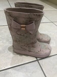 Ted Baker Girls Pink Wellies Size 10 | eBay