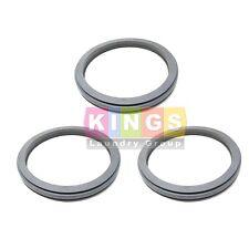 3pk Gray Door Gasket For 27 35lb Unimac Huebsch Speed Q Washers F170123