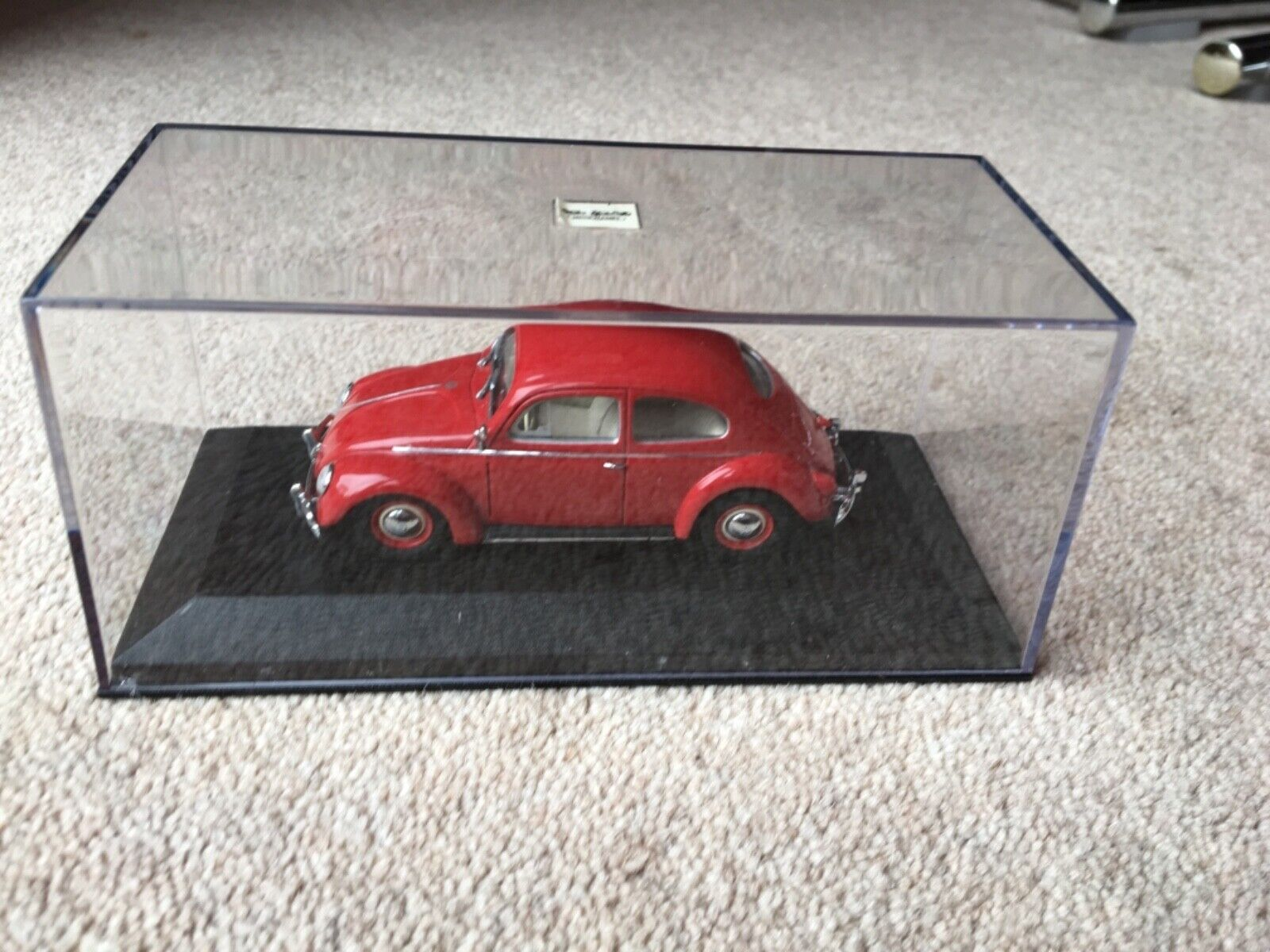 MINICHAMPS VW KAFER BEETLE PAULS MODEL ART No 430 052102 OVALFENSTER 1953-1957