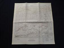 Landkarte Meßtischblatt 3359 Schwerin a.d. Warthe / Skwierzyna, Neumark, 1945