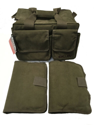 New Allen Select Canvas Range Bag 2304 Two Pistol Rugs Olive Green