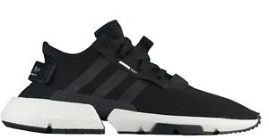 New Mens ADIDAS ORIGINALS POD-S3.1 - BOOST B37366 Black White Shoes ... 4b0b13b4b