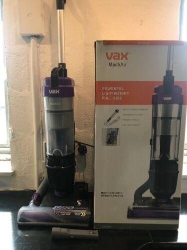 VAX MACH AIR UPRIGHT BAGLESS HOOVER FULLY WORKING