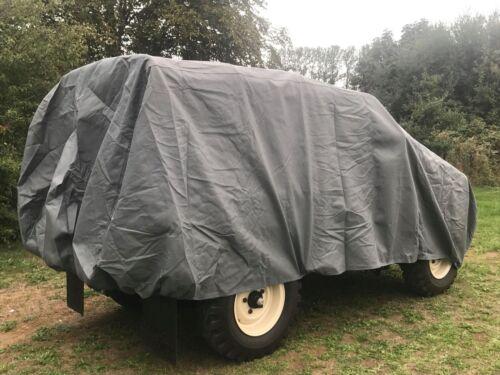 4 capas a prueba de arañazos Impermeable Land Rover Serie 1-3 cubierta resistente