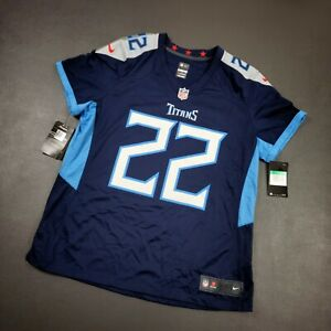 Details about 100% Authentic Derrick Henry Nike Titans On Field Jersey Size XL Women