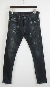 DIESEL-Tepphar-SLIM-CAROTA-0806Q-Stretch-Uomo-W30-L32-Jeans-con-effetto-invecchiato-22794-JS