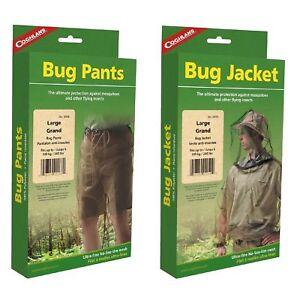 Coghlan-039-s-Bug-Suit-Pants-amp-Jacket-Large-Black-Unisex-Lightweight-Mosquito-Net