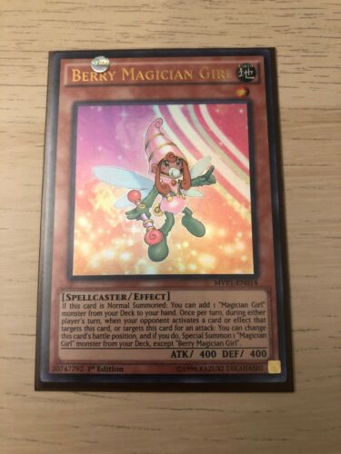 Berry Magician Girl Ultra Rare M//NM MVP1-EN014 1st Edition