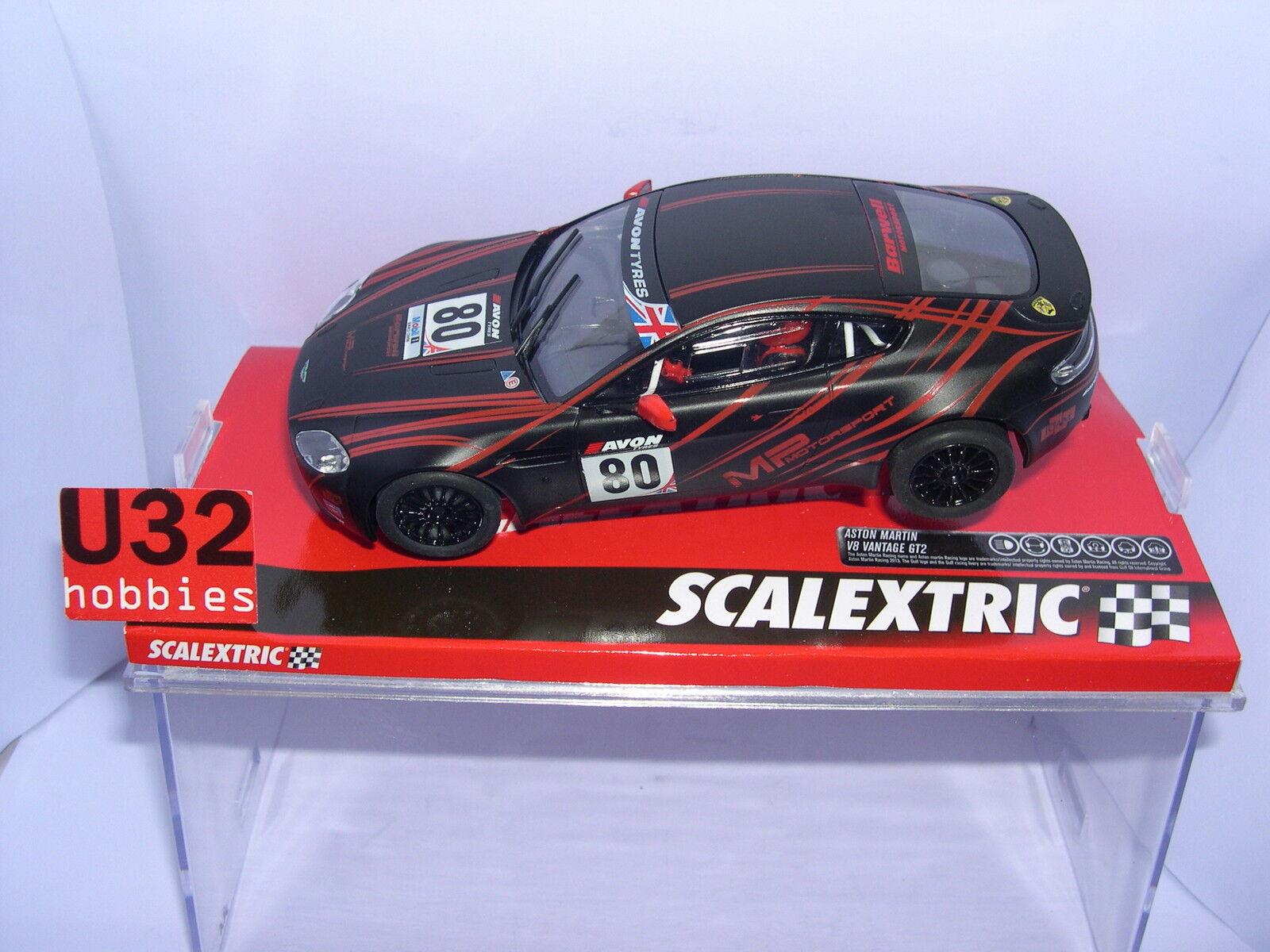 SCALEXTRIC A10203S300 ASTON MARTIN VANTAGE MOTORSPORT MB