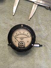 Vtg Radio Panel Meter Jewell Dc Milliamperes 0 100 Me464