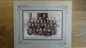 Großes CAB Foto Schönes Klassenfoto / Knabenklasse - 1900er