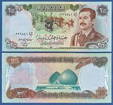IRAK / IRAQ  25 Dinars 1986 UNC  P.73